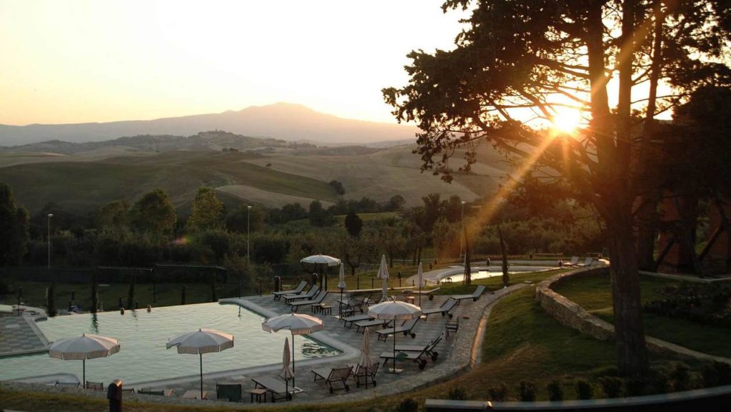 fonteverde hotel pool and countryside