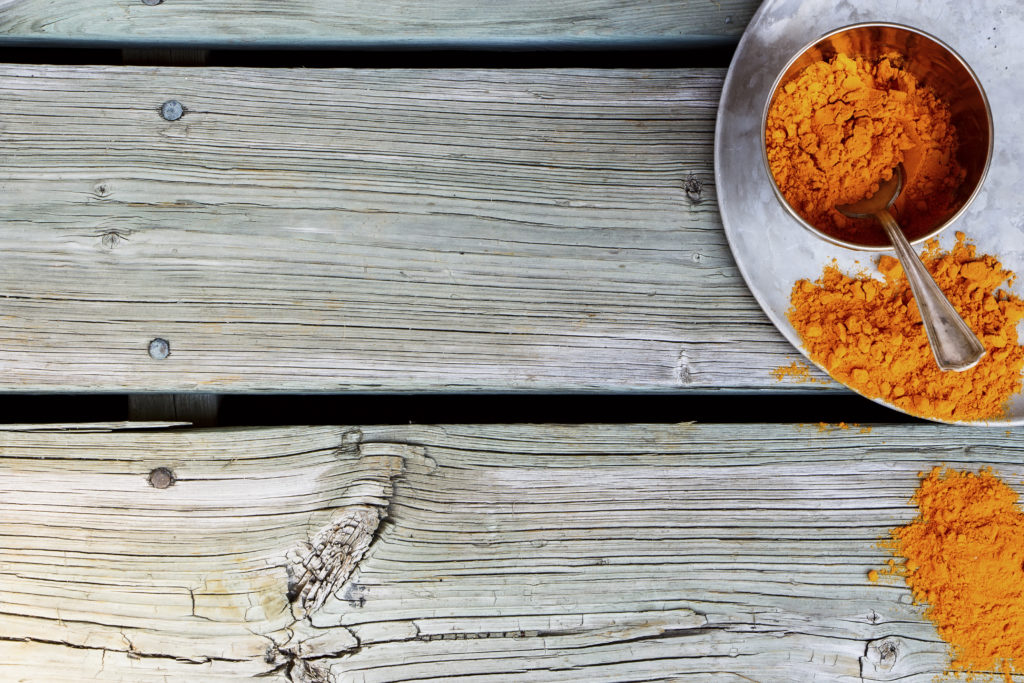 turmeric powder spice