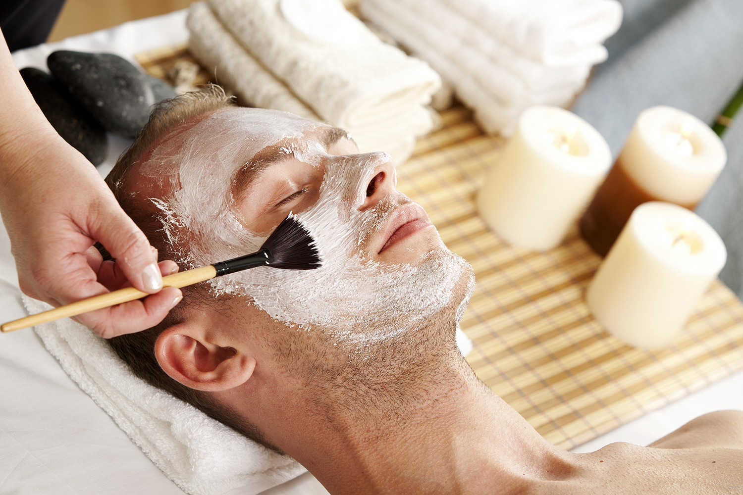 Exactly would Mens facial salon right! seems