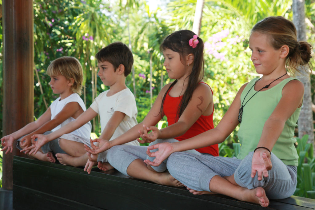 Natural Alternatives for ADHD: Kids Praciticing Yoga