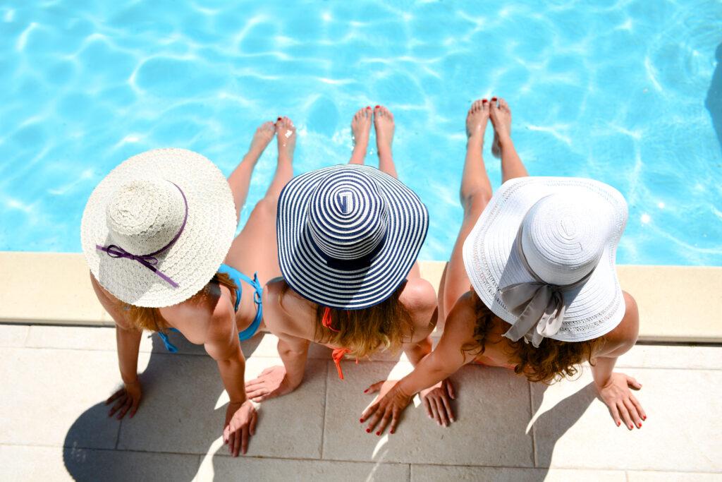 Splurge on a higher cost spa item like a beautiful destination resort.