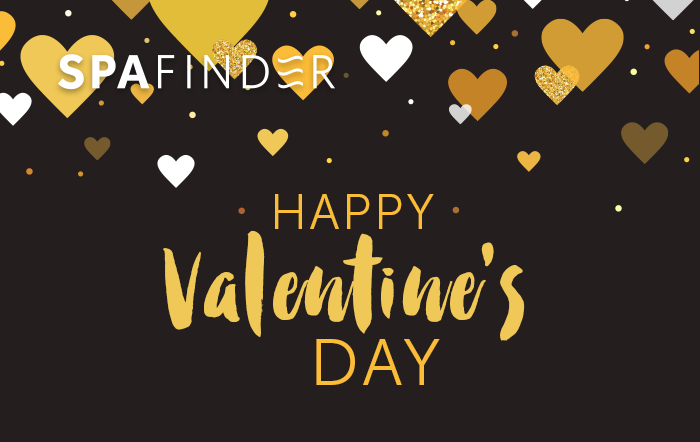 spafinder gift card that reads happy valentines day