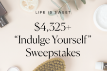 Indulge yourself sweepstakes